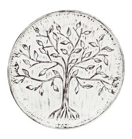 Whitewashed Tree of Life Wall Art
