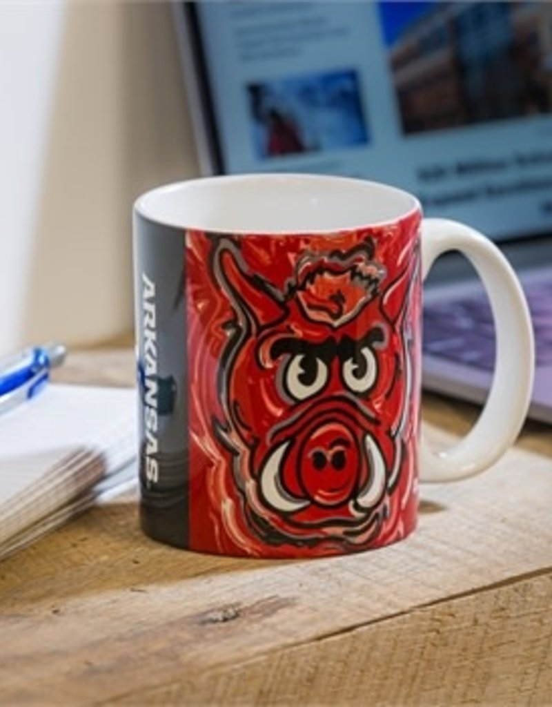 University of Arkansas, 11oz Mug Justin Patten
