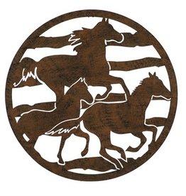 Lasercut Horses