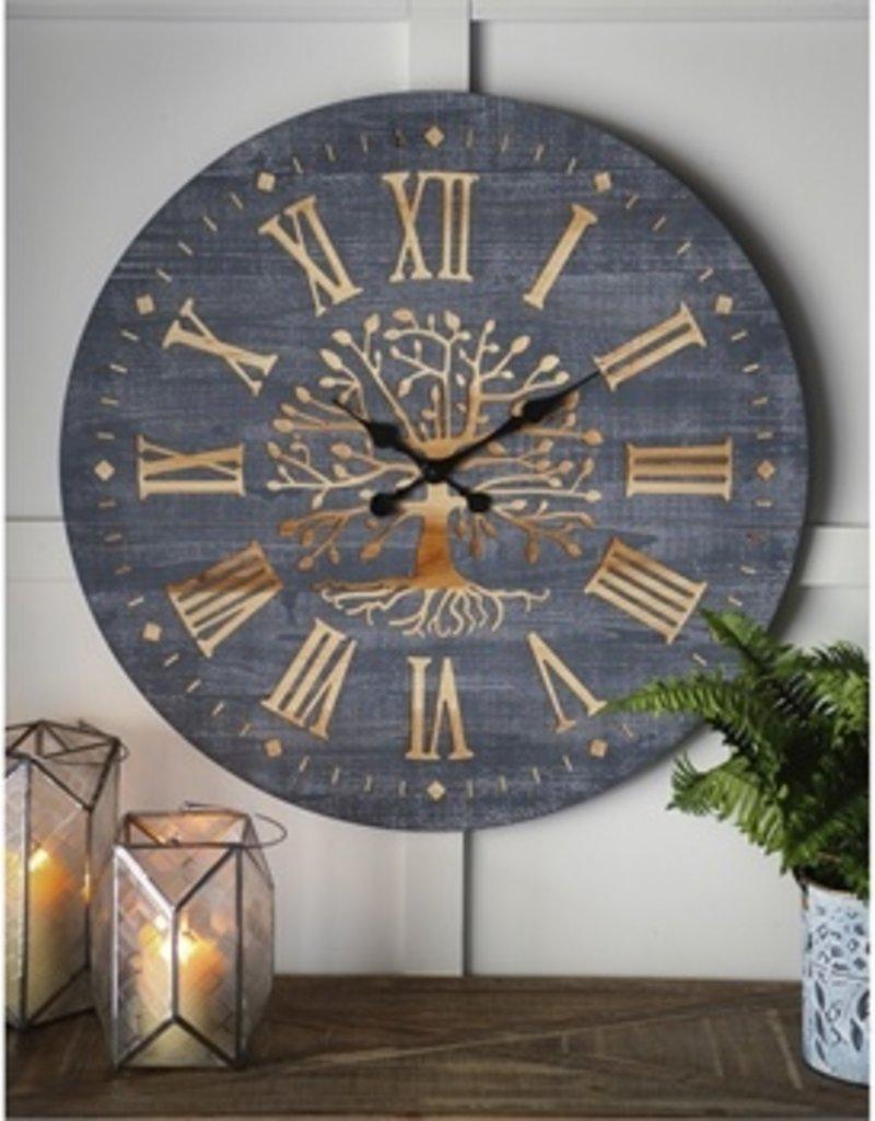 Tree of Life Wood Wall Clock
