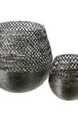 Silver Basket, Set of 2