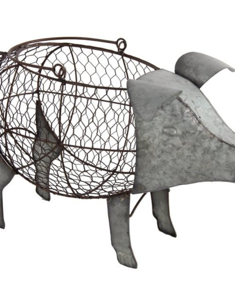 Metal Pig Basket