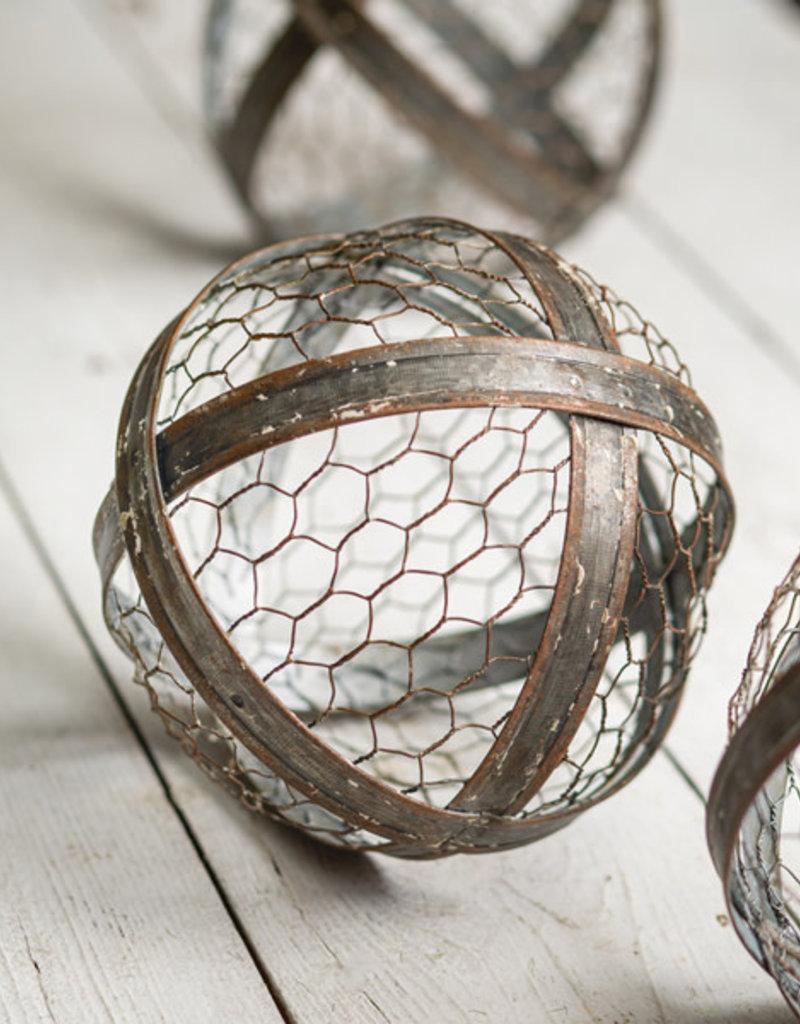 Chicken Wire Metal Ball