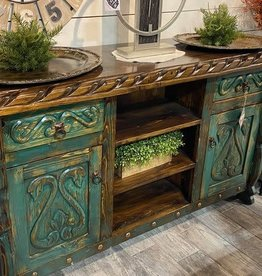Swan Cabinet - Turquoise