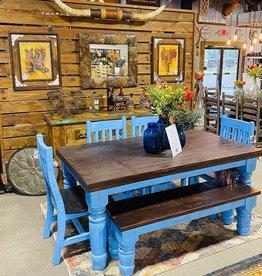 6' Santa Rita Table - Blue