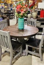 "48"" Round Santa Rita Table - Gray"