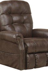 Ramsey Power Lift Recliner w/Heat & Massage - Sable