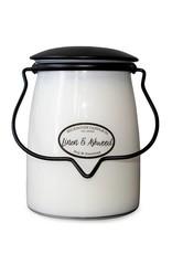 Butter Jar 22oz : Linen & Ashwood