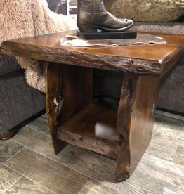 Mesquite Free Form End Table 24x24