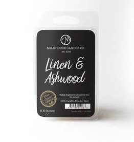 Large Fragrance Melts: Linen & Ashwood