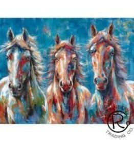 Colorful Horse Canvas  36 X 48