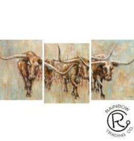 Longhorn Canvas 3/A