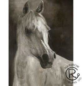 "White Horse Canvas  36""W x 48""H"