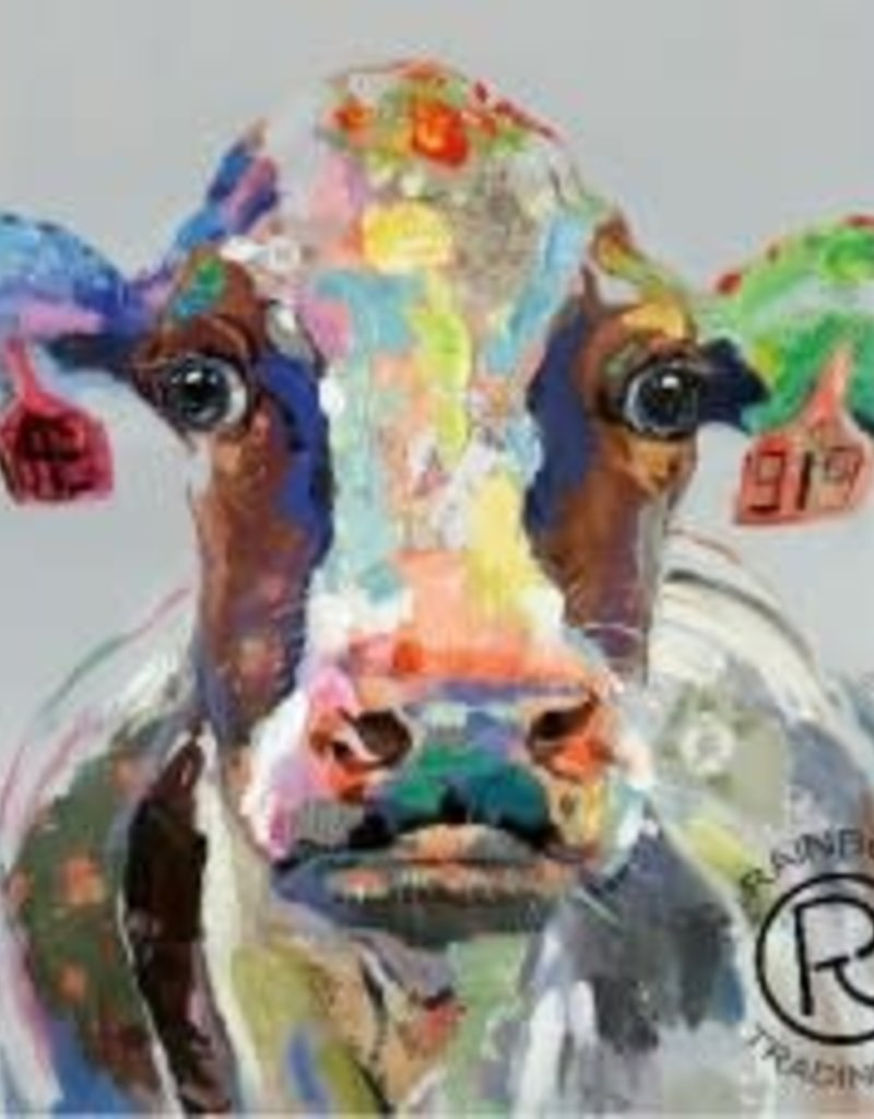 Cattle Canvas 40 X 40