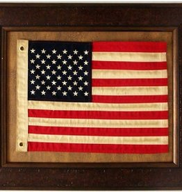 Flag with Grommets under Glass 20x24