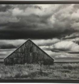 Windmill & Barn Canvas in Frame 48x36