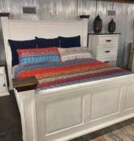 Oasis King Bed Set - White