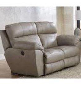 Jackson Furniture Costa Lay Flat Reclining Love Seat-Putty