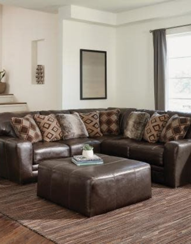 "Jackson Furniture Denali 51 "" Cocktail Ottoman-Chocolate"