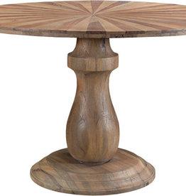 "59"" Lewiston Round Plank Dining Table"