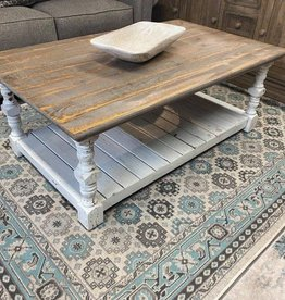 Mission Coffee Table - White