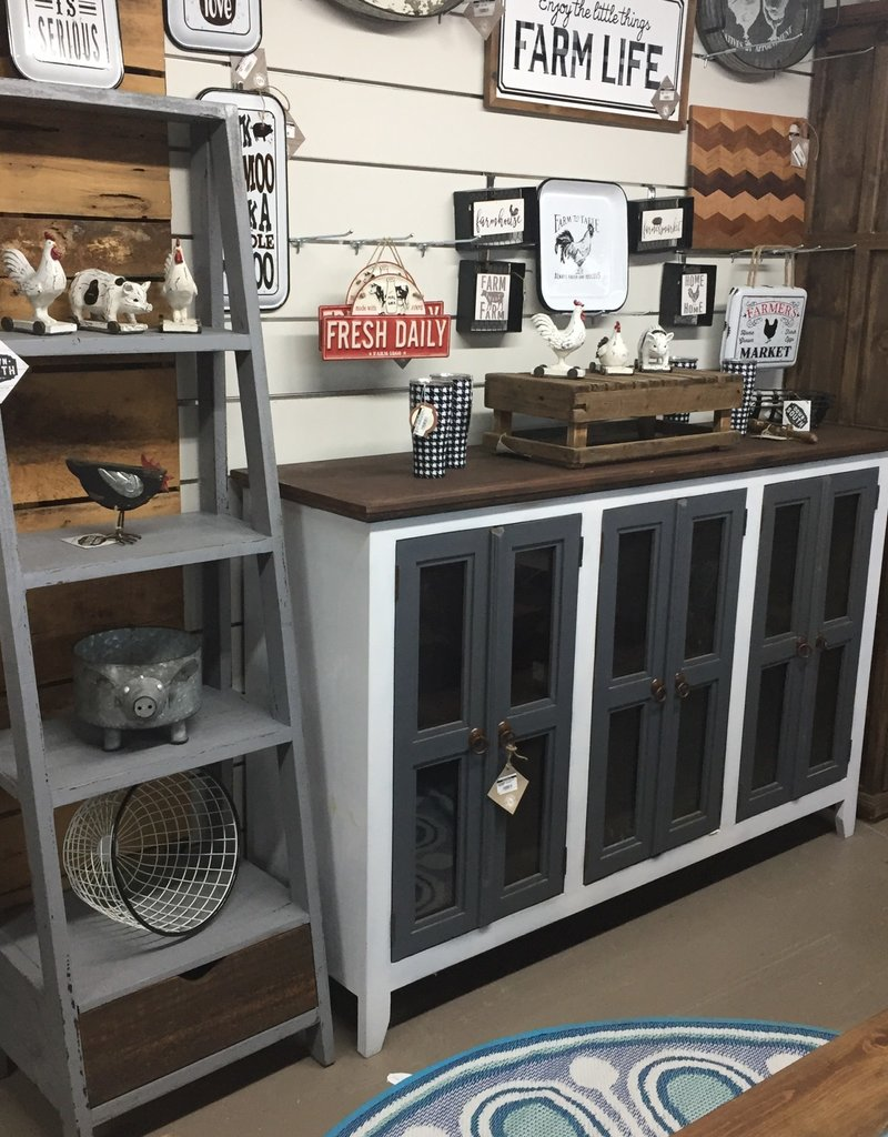 Ladder Bookcase - Gray