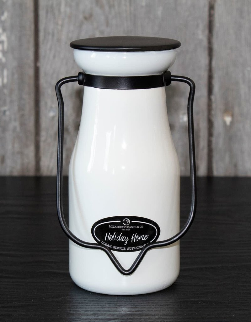 Milkbottle Candle: Holiday Home