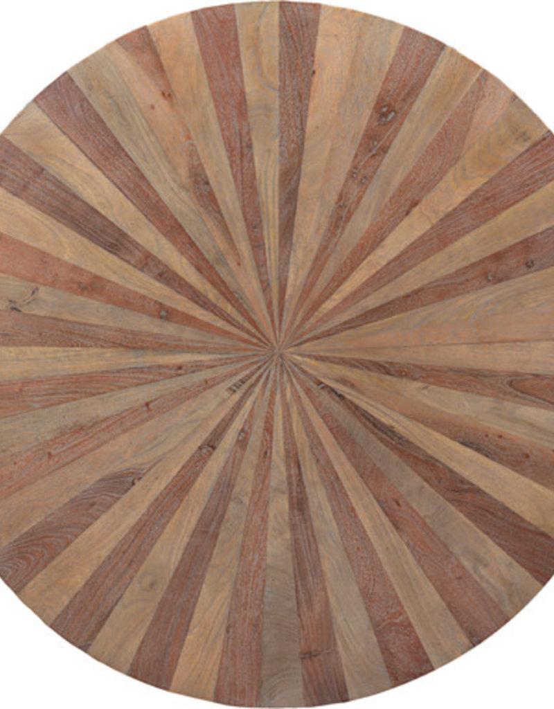 "47"" Lewiston Round Plank Dining Table"