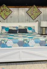 Farmhouse King Bed Set - White