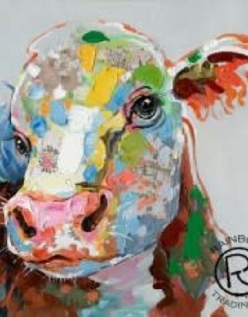 Canvas Colorful Calf 32 x 32