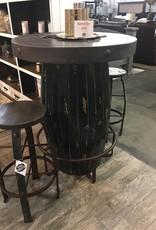 Barrel Pub Table - Black