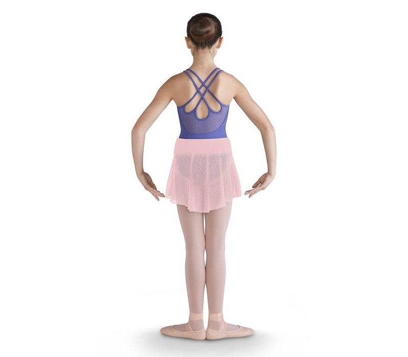 Daisy Mesh Skirt w/Waistband