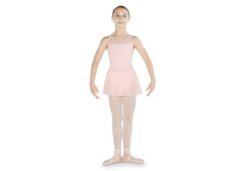 Mirella Flower Mesh Wrap Skirt
