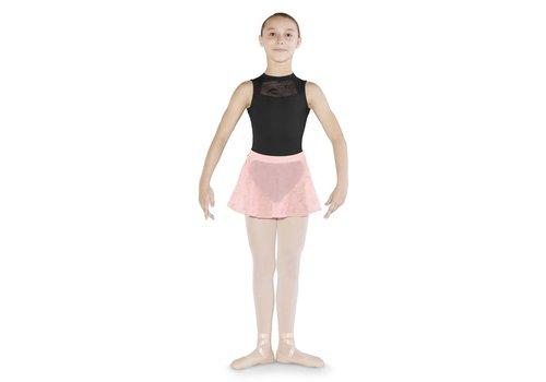 Mirella Glitter Print Mesh Skirt
