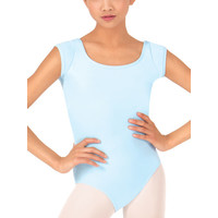 Cap Sleeve Leotard with Back Detail