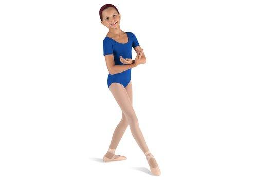Bloch Ballet Short Sleeve Round Neck Leo