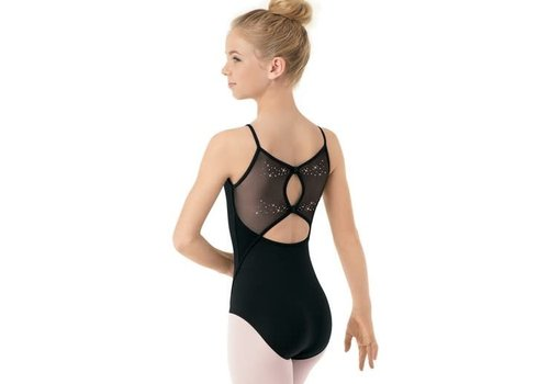 Bloch Starburst Bk Twin Bow Cami Leo