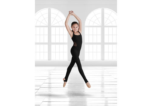 Bloch Daisy Mesh Open X Back Unitard Child