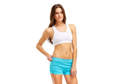 Soffe Side Ruched Short