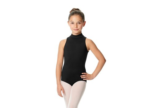 Lulli Basic Mock Neck Leotard