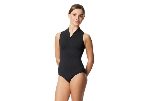 Lulli Ximena Mock Neck Leotard