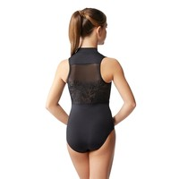 Ximena Mock Neck Leotard