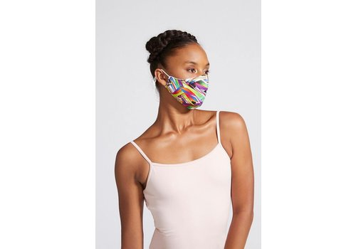 Bloch Printed Soft Stretch Mask Adult