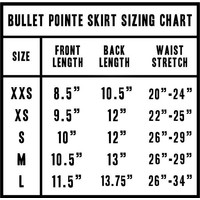 Bullet Pointe Pull On Skirt Adult