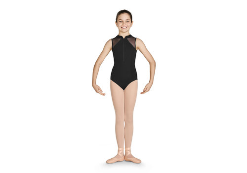 Bloch Diamante Zipper Front Tank Leo