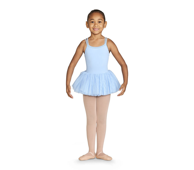Diamante Double Strap Tutu Leo