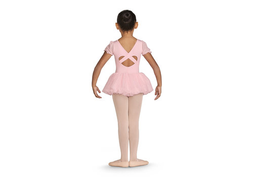 Bloch Diamante Frill Sleeve Tutu Leo