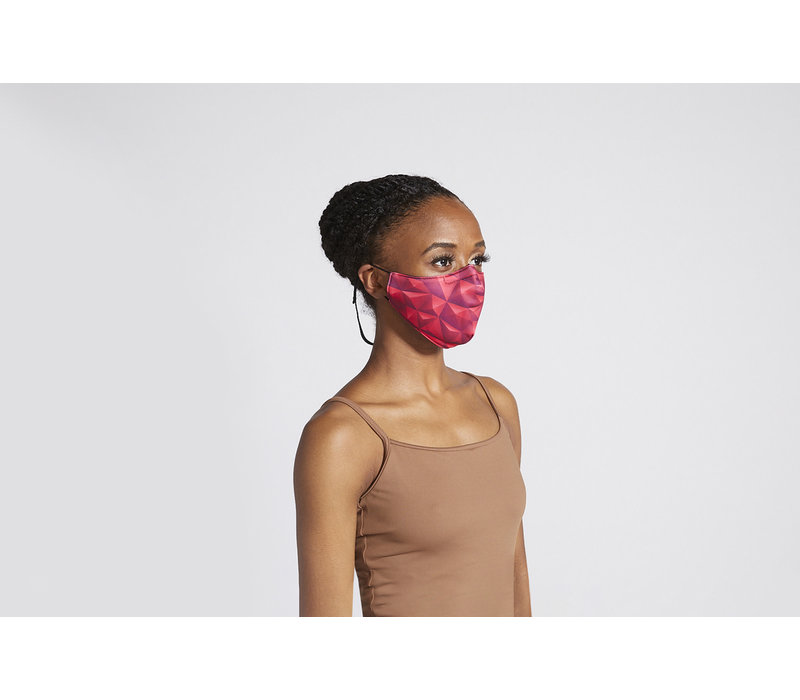 Printed Soft Stretch Mask Adult