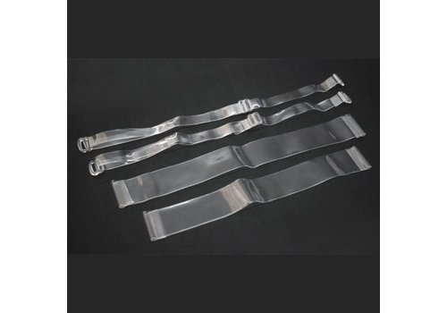 Silky Silky Clear Bra Straps OS