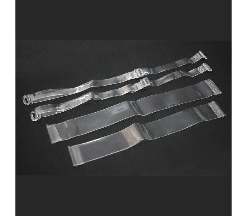 Silky Clear Bra Straps OS